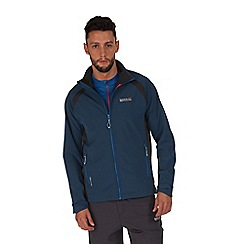 Regatta - Blue/grey morona hybrid jacket