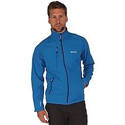 Regatta - Blue nielson softshell jacket