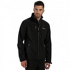 Regatta - Black Nielsen softshell jacket