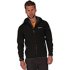 Regatta - Black arec softshell hooded jacket