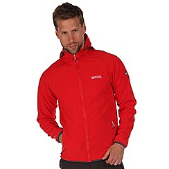 Regatta - Red arec softshell hooded jacket