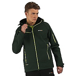 Regatta - Green Hewitts softshell jacket