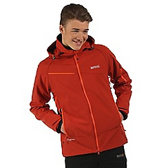 Regatta - Orange Hewitts softshell jacket