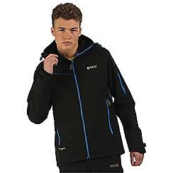 Regatta - Black Hewitts softshell jacket