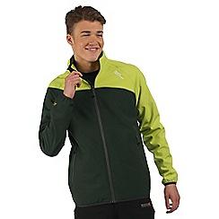 Regatta - Green Nebraska softshell jacket