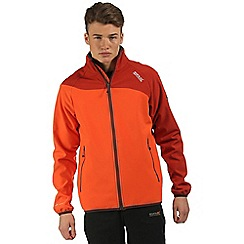 Regatta - Orange Nebraska softshell jacket