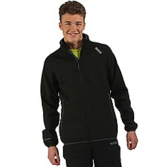Regatta - Black Nebraska softshell jacket