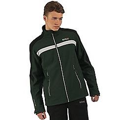 Regatta - Green Parkley softshell jacket