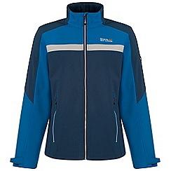 Regatta - Blue Parkley softshell jacket