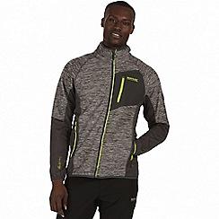 Regatta - Grey 'Farway' hybrid softshell jacket