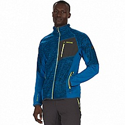 Regatta - Blue 'Farway' hybrid softshell jacket