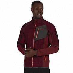 Regatta - Burgundy 'Farway' hybrid softshell jacket