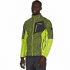 Regatta - Green 'Farway' hybrid softshell jacket