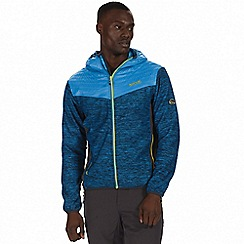 Regatta - Blue 'Harra' hybrid softshell jacket