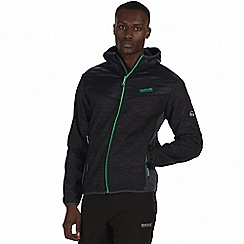 Regatta - Black 'Harra' hybrid softshell jacket