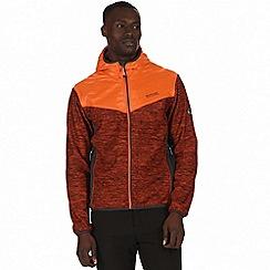 Regatta - Orange 'Harra' hybrid softshell jacket