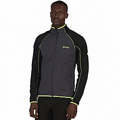 Regatta - Black 'Vorso' softshell jacket