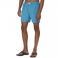 Regatta - Blue mawson swim shorts