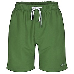 Regatta - Green mawson swim short