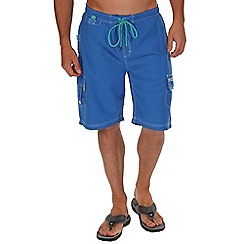 Regatta - Strong blue hotham board shorts