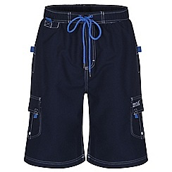 Regatta - Navy hotham board shorts