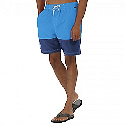 Regatta - Blue brachtmar swim shorts
