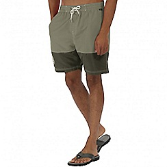 Regatta - Green brachtmar swim shorts