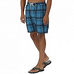 Regatta - Blue hadden board shorts