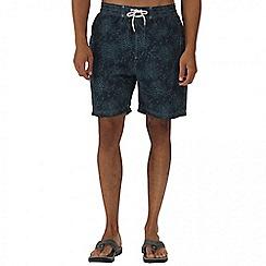 Regatta - Navy hadden board shorts