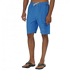 Regatta - Blue hotham board shorts