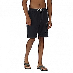 Regatta - Navy hotham board shorts