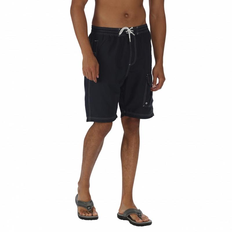 Regatta - Navy Hotham Board Shorts Picture