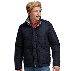 Regatta - Navy lennon quilted jacket