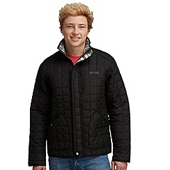 Regatta - Black lennon quilted jacket