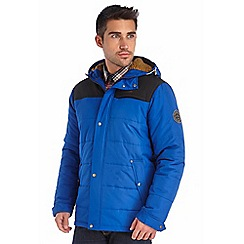 Regatta - Bright blue winterwarm quilted jacket