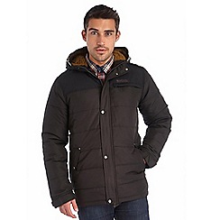 Regatta - Black winterwarm quilted jacket