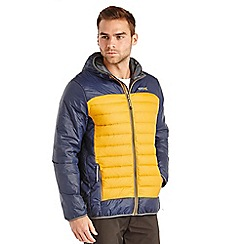 Regatta - Navy/mustard highfell down jacket