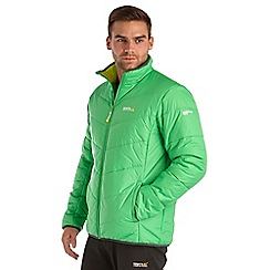 Regatta - Bright green icebound quilted jacket