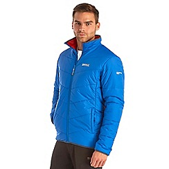 Regatta - Oxford blue icebound quilted jacket