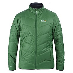 Regatta - Alpine green icebound quilted jacket