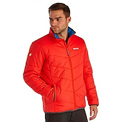 Regatta - Red icebound quilted jacket