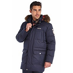 Regatta - Navy andram down jacket