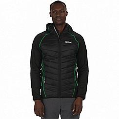 Regatta - Black 'Andreson' waterproof insulated jacket