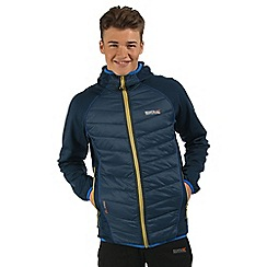 Regatta - Dark blue Andreson hybrid jacket