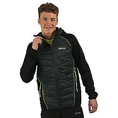 Regatta - Dark green Andreson hybrid jacket