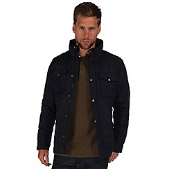 Regatta - Navy leader quilted jacket