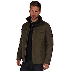 Regatta - Green leader quilted jacket