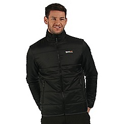 Regatta - Black Zyber quilted jacket