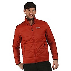 Regatta - Orange Zyber quilted jacket