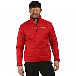 Regatta - Red Zyber quilted jacket